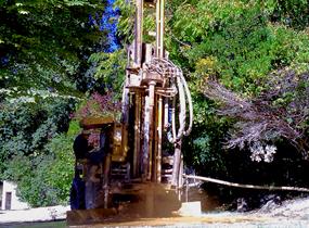 Perforación de pozo de agua en A Coruña